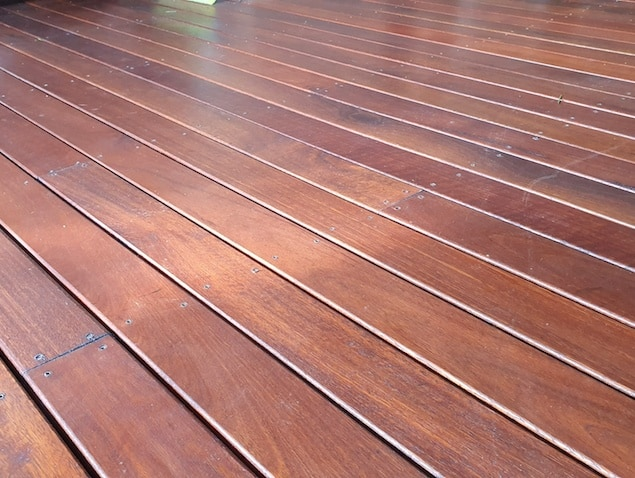 Merbau deck product image
